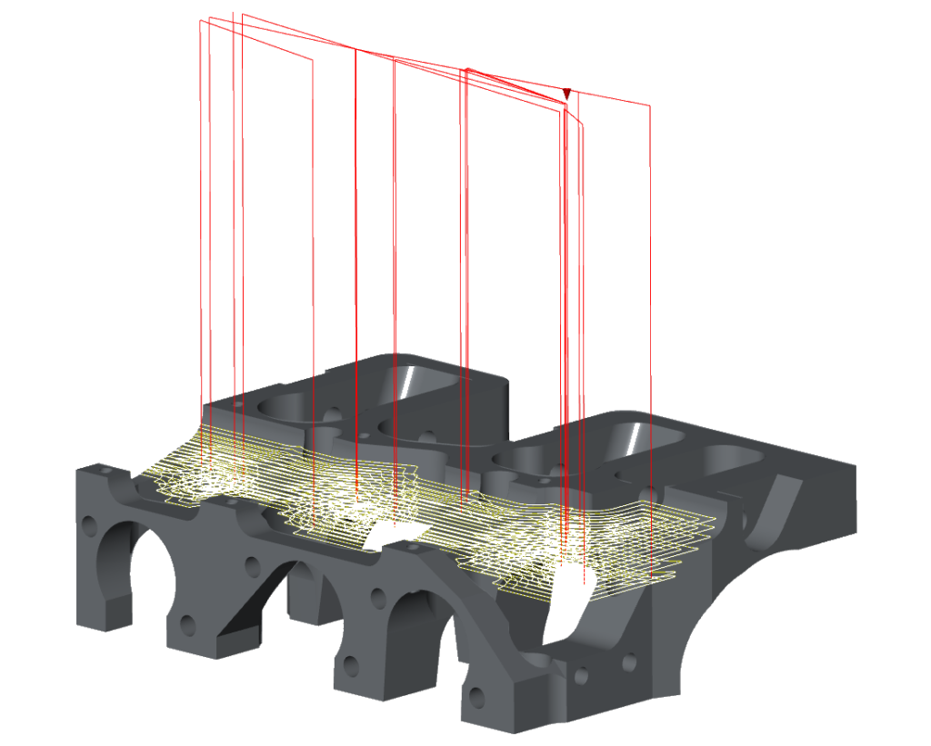 CAD CAM machining